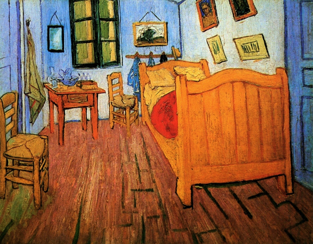 Spalnya V Arle Poisk V Google Van Gogh Van Gogh Art Vincent Van Gogh