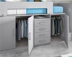 Resultado de imagen para camas altas con armario debajo - Camas altas con armario debajo ...