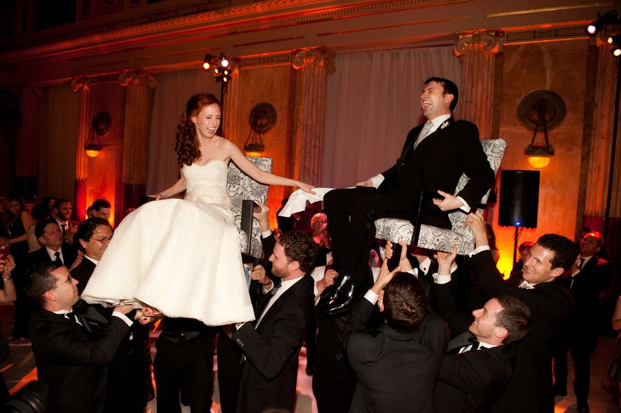 Jewish Wedding Reception Hora
