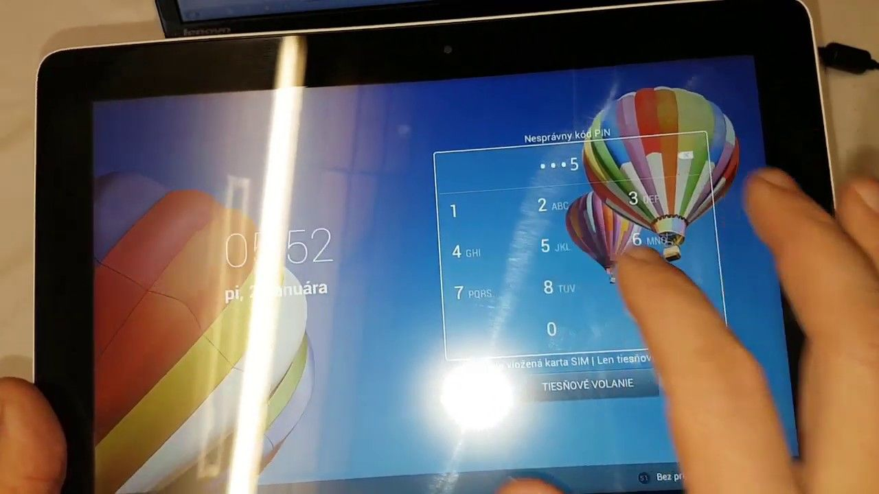 Huawei MediaPad 10 ( S10-231L) reset user code or hard reset