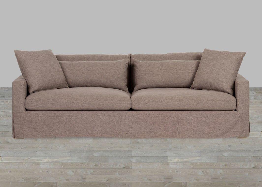 Upholstered Sofa Belgian Linen Down Seating Products Furniture  ~ Kensington Upholstered Sofa