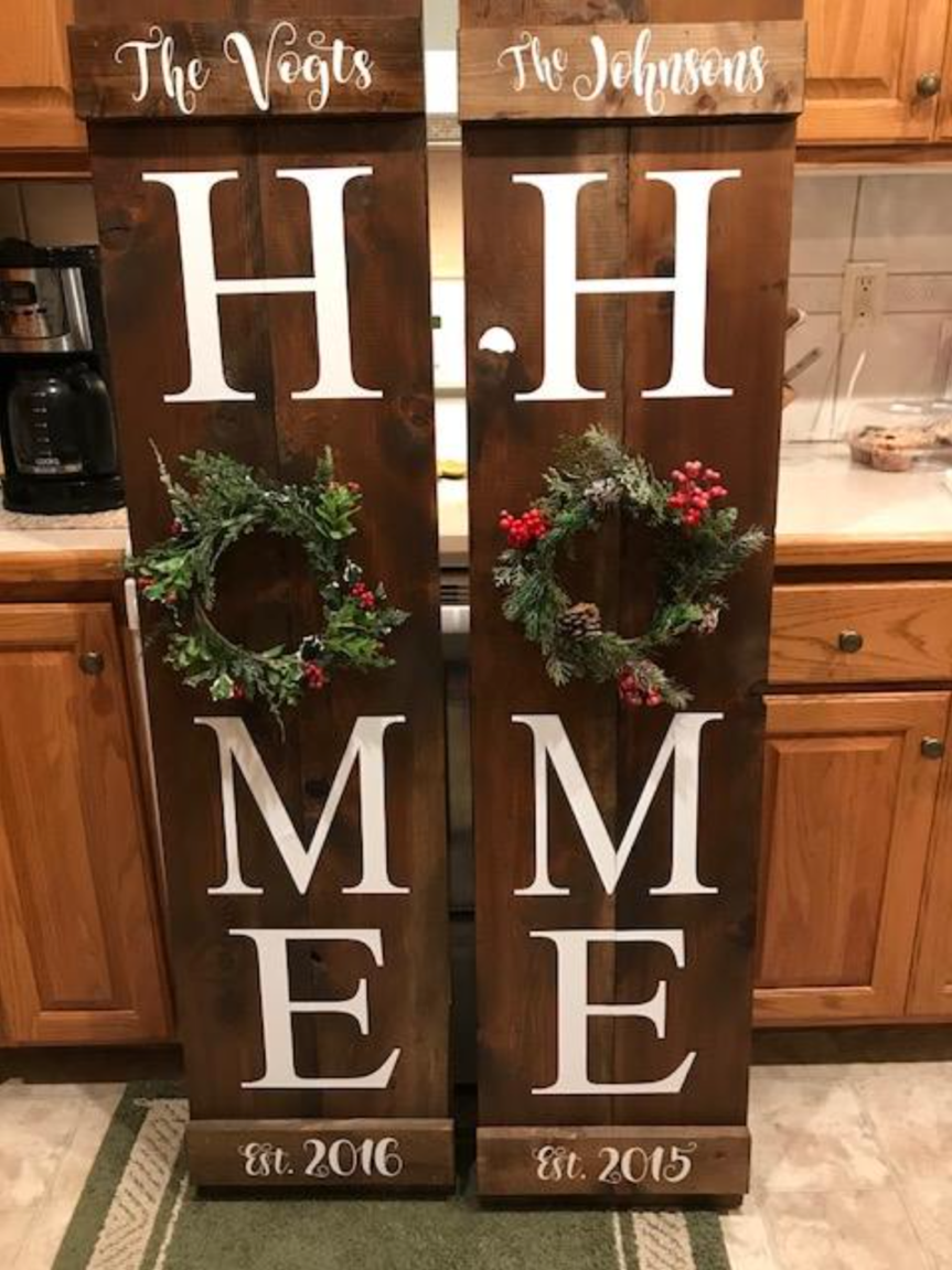 Pin by Tammy Parins on Pallet signs | Christmas signs diy ...