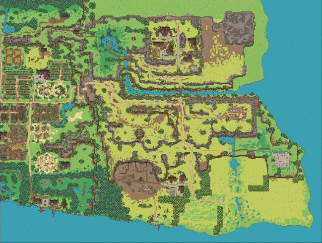 [WIP] Sneak Peek pixelated overview of the new level 10