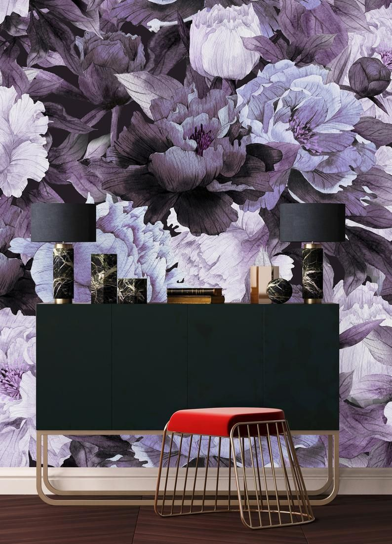 Removable Wallpaper Peel And Stick Wallpaper Self Adhesive Etsy Removable Wallpaper Peel And Stick Wallpaper Feature Wall Bedroom