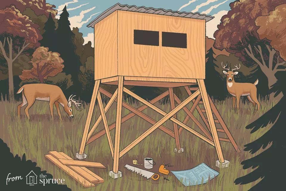 11 Free DIY Deer Stand Plans