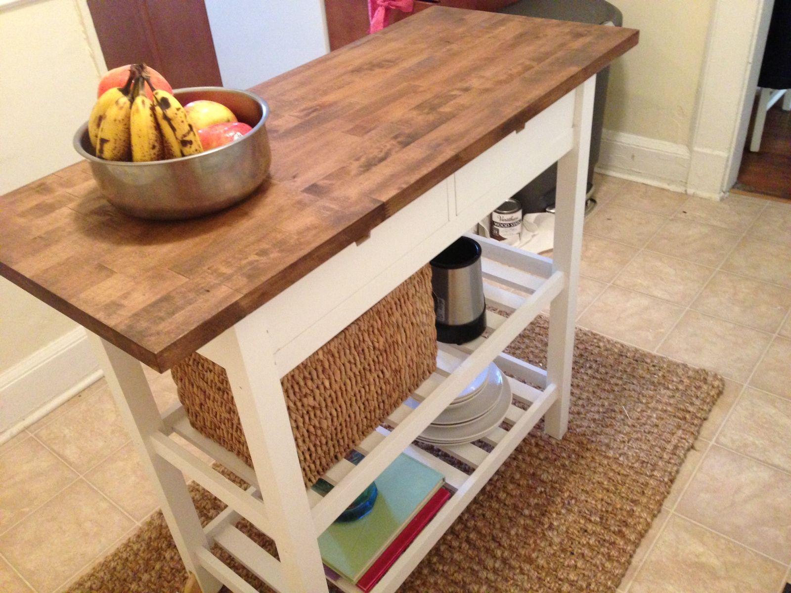 personnaliser la desserte f rh ja ikea ikea kitchen cart and kitchen carts. Black Bedroom Furniture Sets. Home Design Ideas