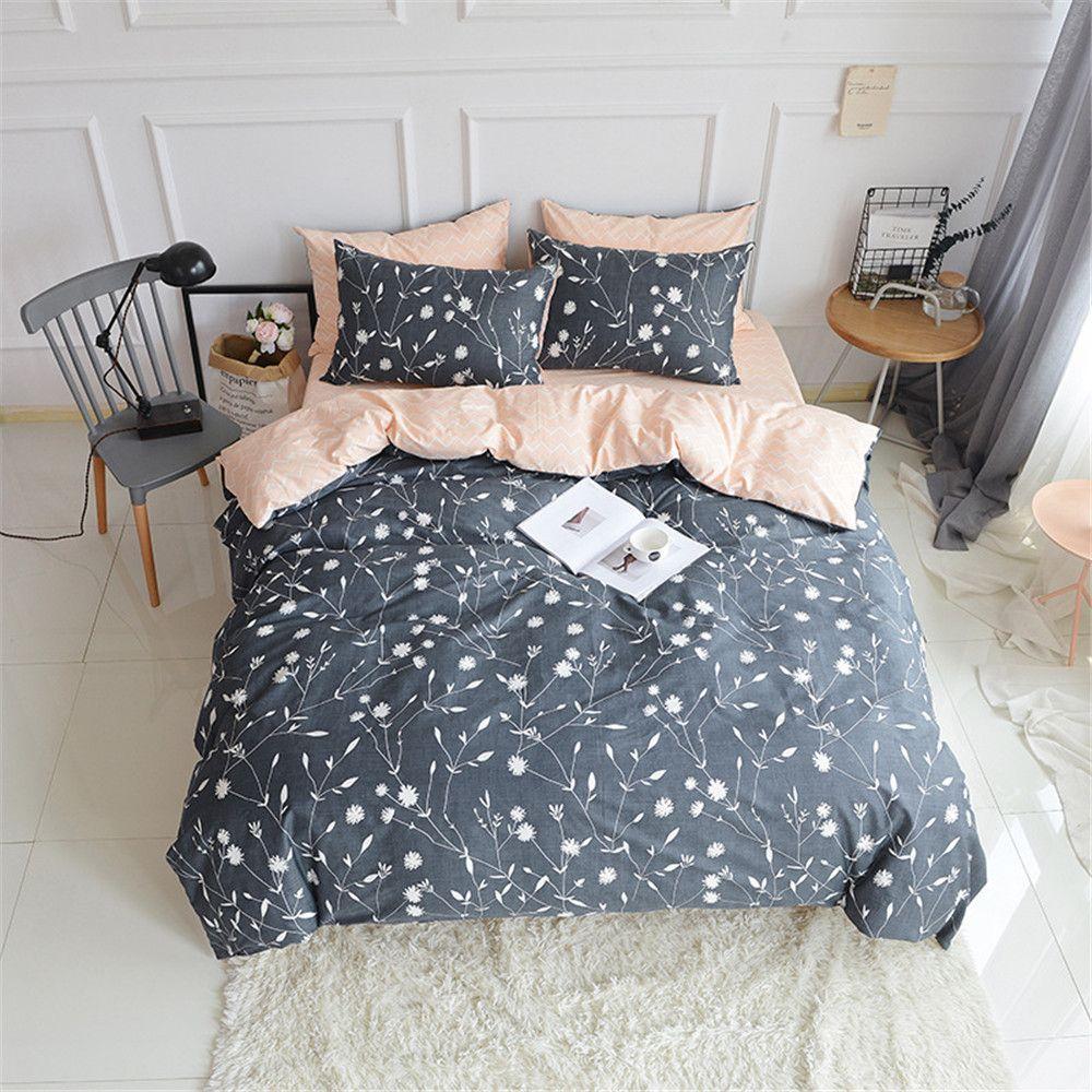 20 Usd Coupon Floral Duvet Cover Sets Cotton Queen Duvet Covers 3 Piece Simple Modern Bedding Set Duvet Cover Sets Luxury Duvet Covers Duvet Covers