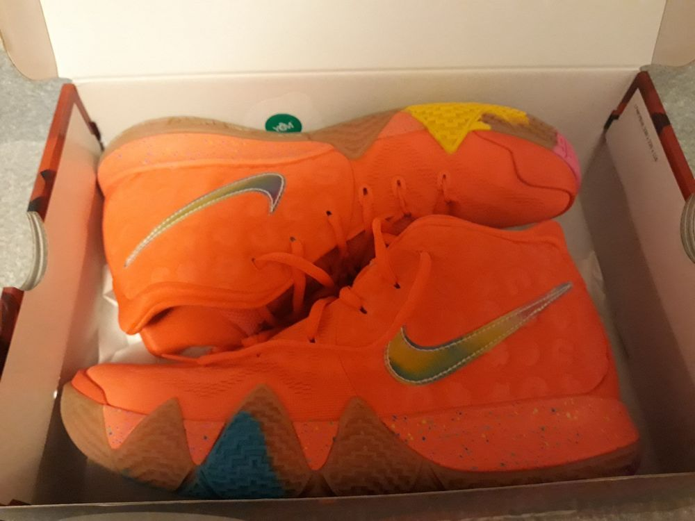 quality design 9a6a5 31e85 Nike Kyrie 4 Lucky Charms Size 9 #fashion #clothing #shoes ...