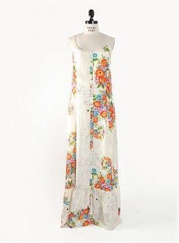 Button Down Maxi Dress (w/Slip)