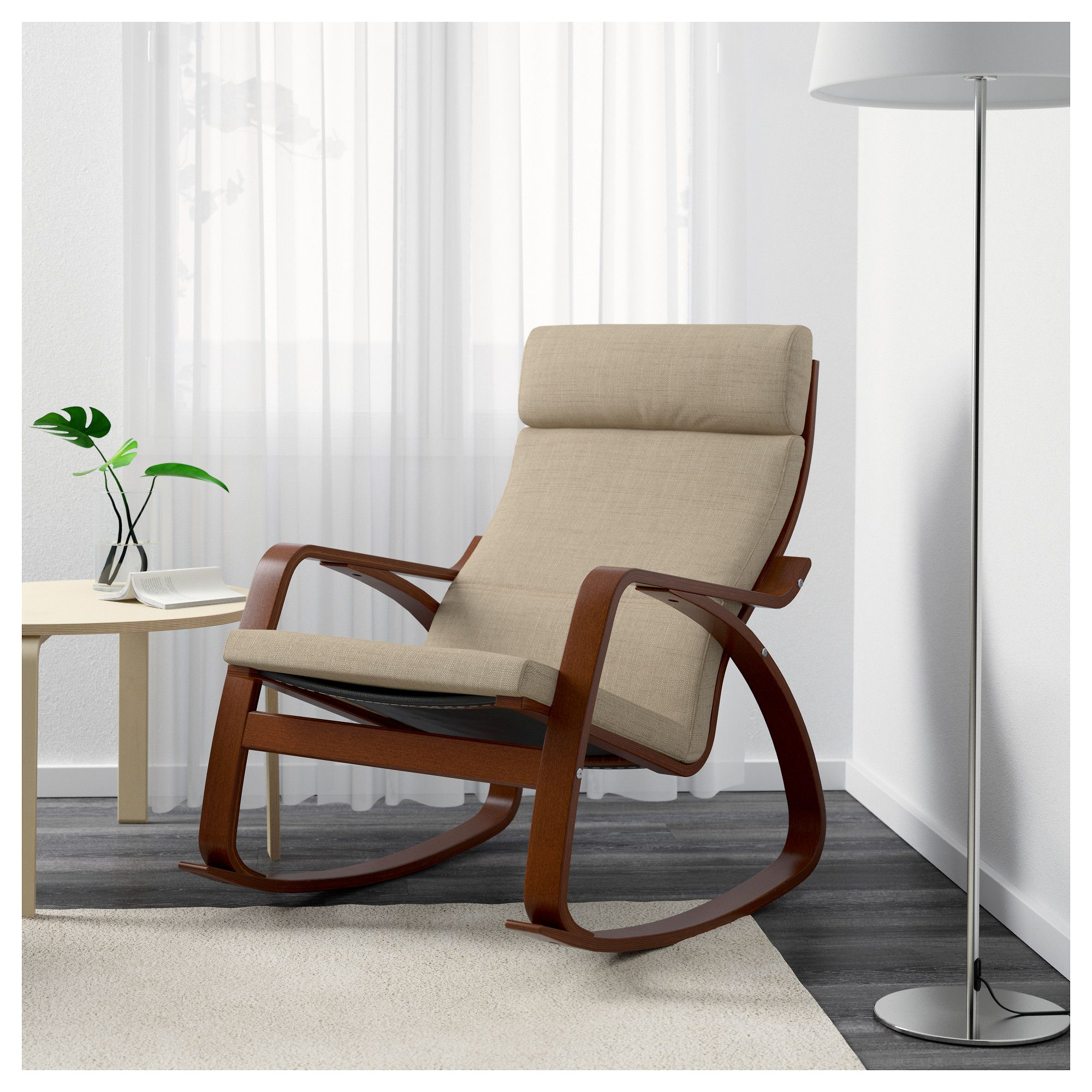 Furniture and Home Furnishings   Rocking chair, Leather