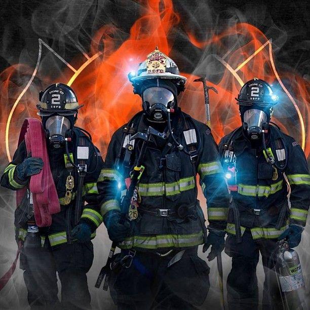 Fantastic fire department ad