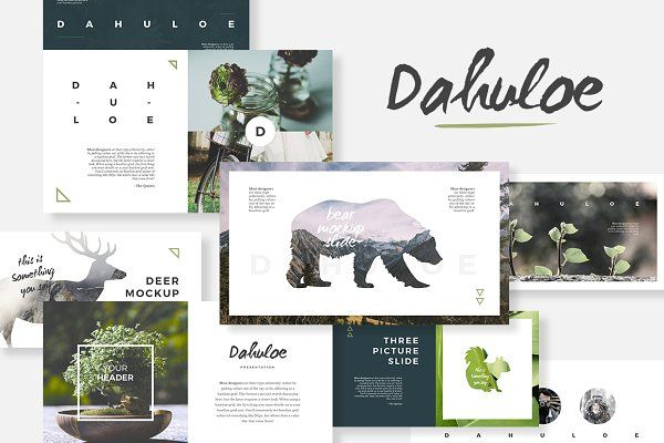 Dahuloe Powerpoint Template  Presentations  Rcas  Design
