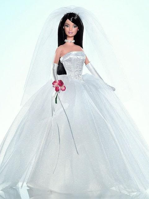 Barbie Wedding Gown HD Wallpapers Free Download | Barbie Dolls ...