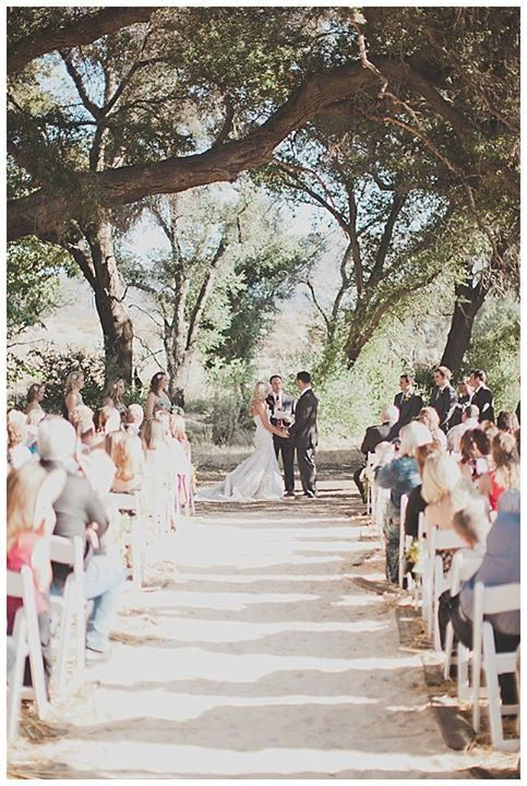 This Charming Oak Grove in San Diego is the Perfect Wedding Venue for Your Rustic Affair