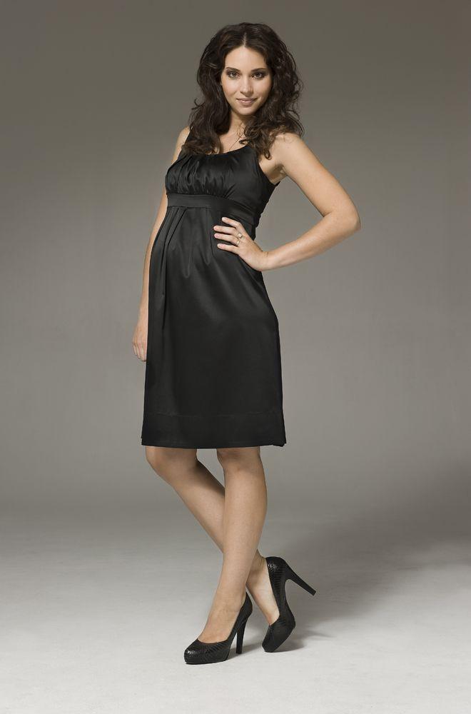 059671c5728 Alexis Satin Maternity Dress from Ripe Maternity - Ella Bella Maternity  Boutique