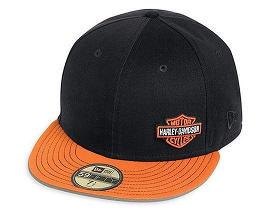 cc14a6dc6a9 HARLEY-DAVIDSON x NEW ERA「Logo」59Fifty Fitted Baseball Cap ...