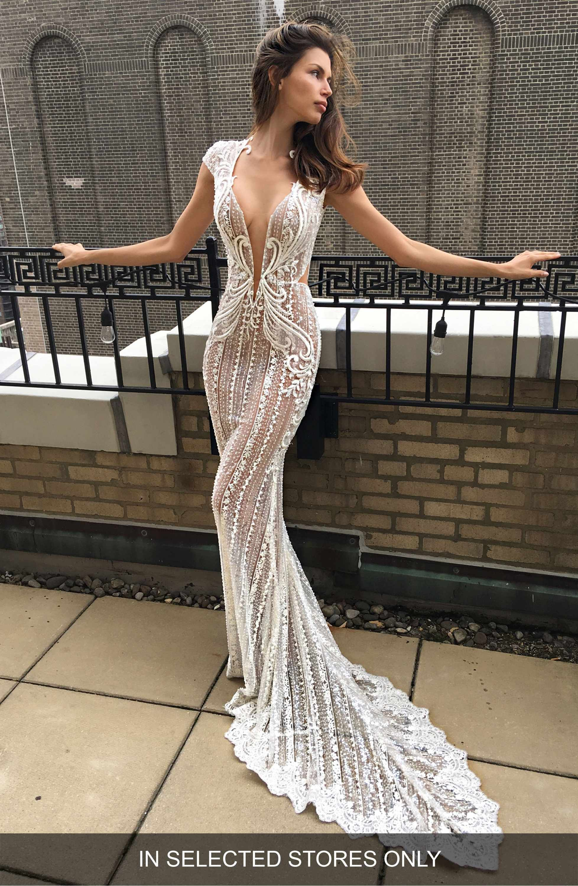 Cap sleeve embellished lace mermaid gown lace mermaid mermaid