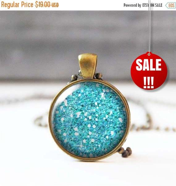 Turquoise Glitter Necklace Picture Pendant 25 mm 1 Inch Round Photo Necklace Sparkle Necklace Bohemian Jewelry Bridesmaid gift 13.30 USD StudioDbronze Picture Pendant 25 mm round 1 Inch Round Photo Necklace Sparkle Necklace Bohemian Jewelry Bridesmaid gift Glitter pendant picture necklace photo pendant Turquoise Glitter Turquoise Necklace 5015-S16 #handmade #jewelry #etsy
