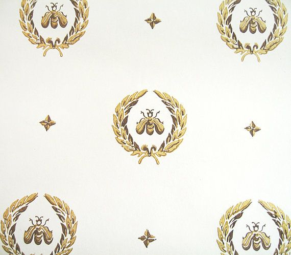 Napoleonic Bee Pattern Wallpaper Royal French By Pveris