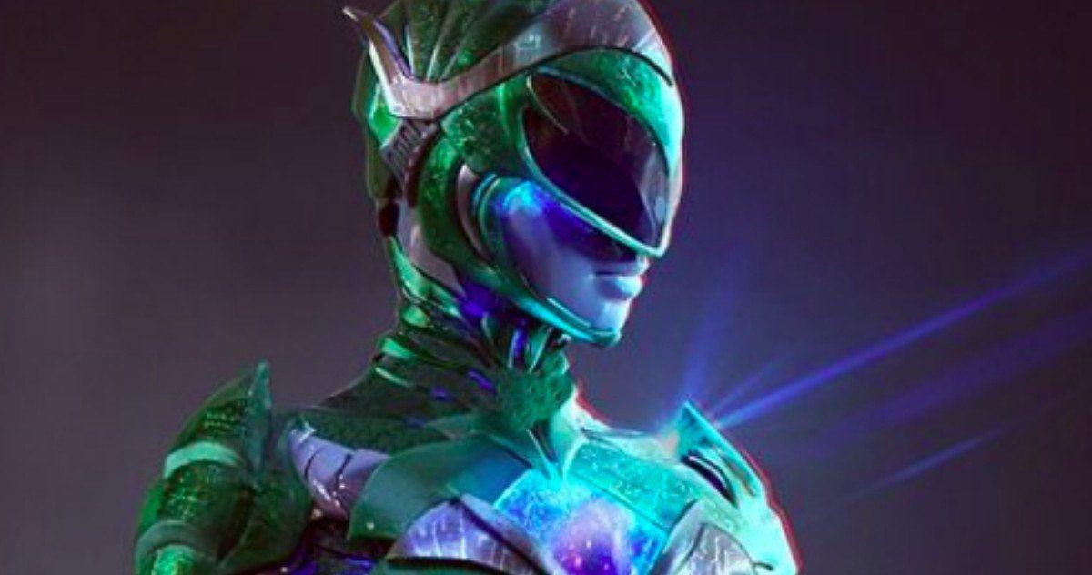 Power Rangers Concept Art Shows Rita Repulsa As The Green Ranger Power Rangers Green Ranger Power Rangers Movie
