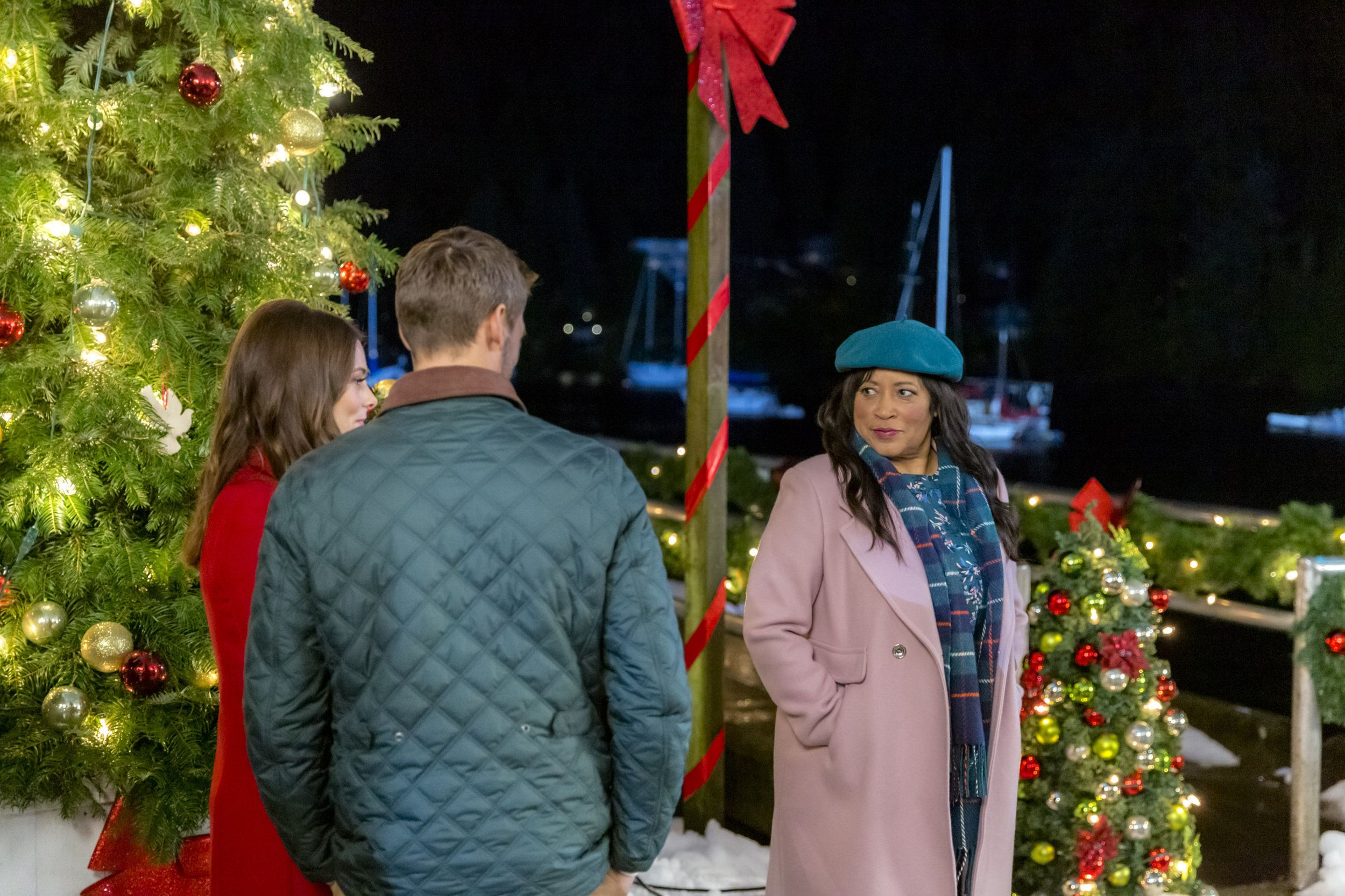 """Check out photos from the Hallmark Channel original movie, """"Christmas On My Mind"""" starring ..."""