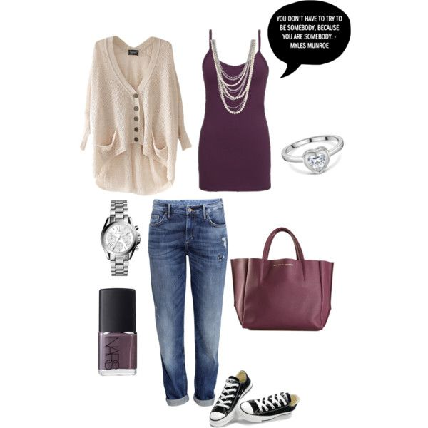 A fashion look from March 2015 featuring BKE core tops, Chicnova Fashion cardigans and H&M jeans. Browse and shop related looks.