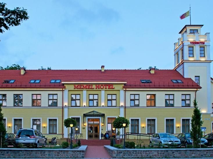 Klaipeda Memel Hotel Lithuania, Europe The 3-star Memel Hotel offers comfort and convenience whether you're on business or holiday in Klaipeda. The property features a wide range of facilities to make your stay a pleasant experience. To be found at the hotel are free Wi-Fi in all rooms, 24-hour front desk, facilities for disabled guests, luggage storage, Wi-Fi in public areas. Guestrooms are fitted with all the amenities you need for a good night's sleep. In some of the rooms,...