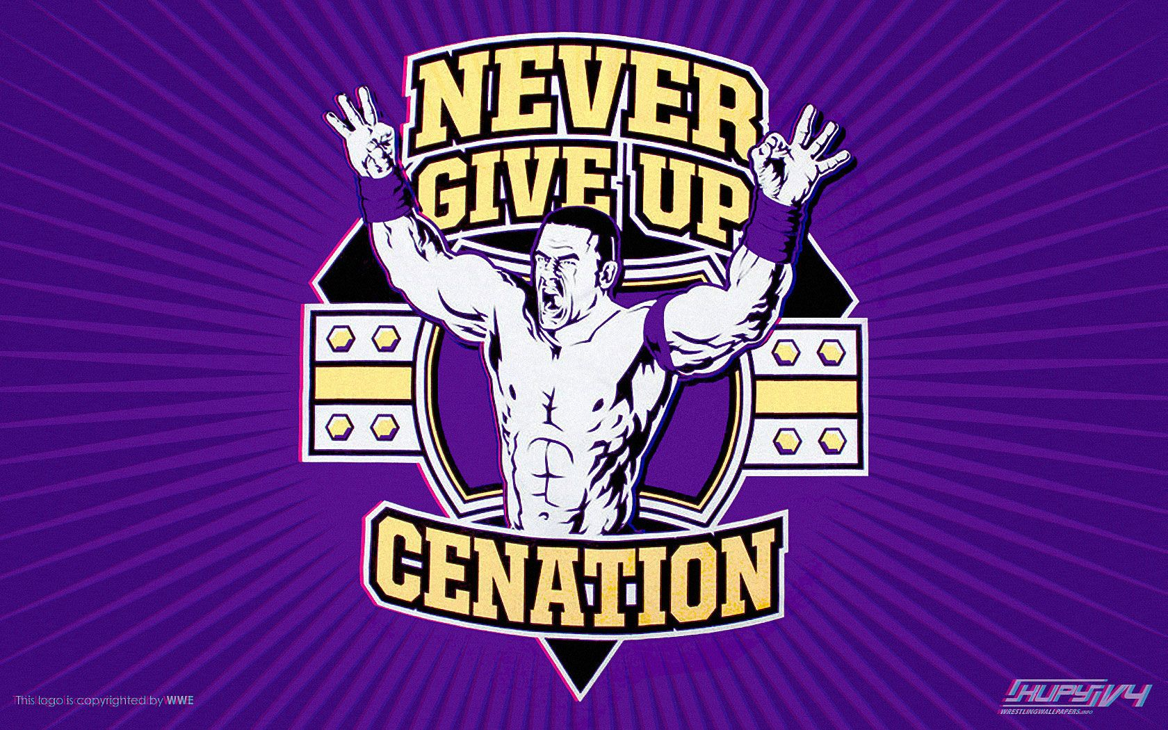 brand new b5d85 6db36 u can t see me. John Cena - Never Give Up 1