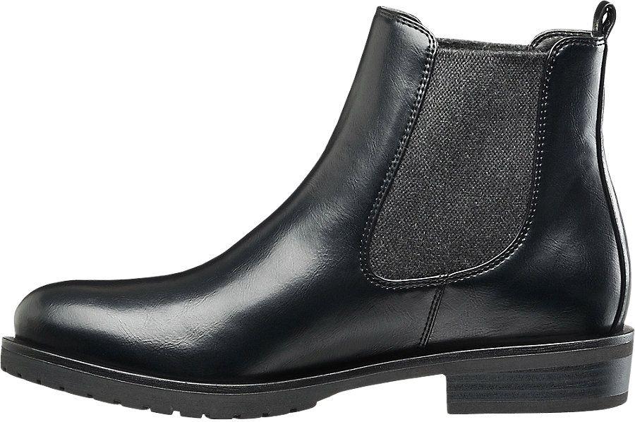 Czarne Sztyblety Damskie Graceland 1111311 Deichmann Com Chelsea Boots Boots Ankle Boot