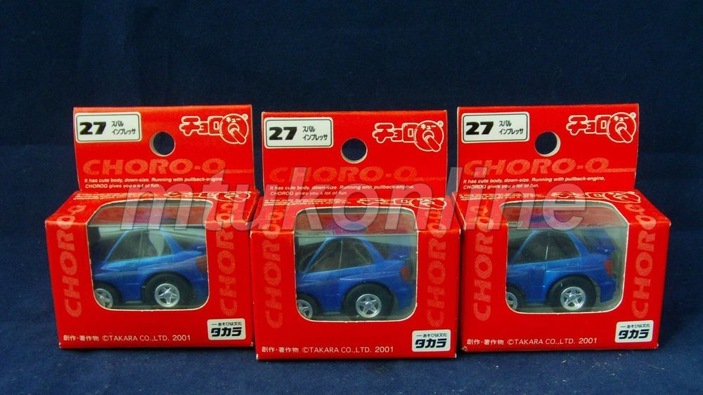 Choro Q Standard 2001 Subaru Impreza Gd2 No 27 Sell As Lot Subaru Impreza Impreza Subaru