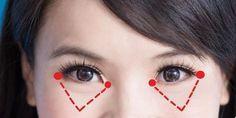 Questa fantastica tecnica giapponese può far sembrare i tuoi occhi più giovani e basta solo un minuto
