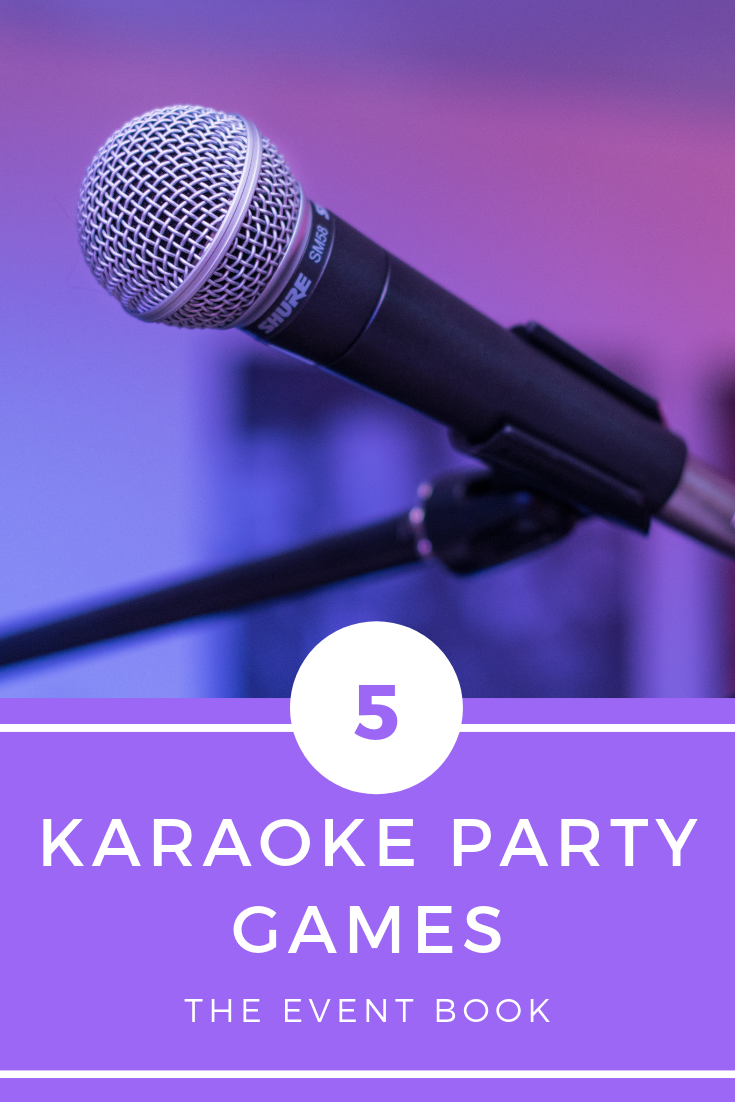 5 Great Karaoke Party Games #bestkaraokemachine