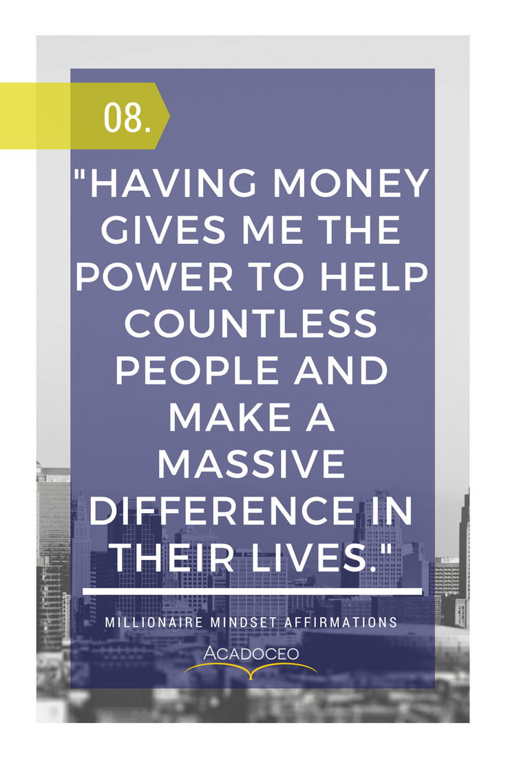 How to Develop a Successful Millionaire Mindset | Mindset | Money