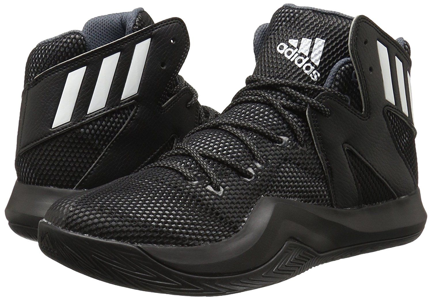 Amazon Com Adidas Performance Men 39 S Crazy Bounce Basketball Shoe Basketball Black Basketball Shoes Basketball Shoes For Men Red Basketball Shoes