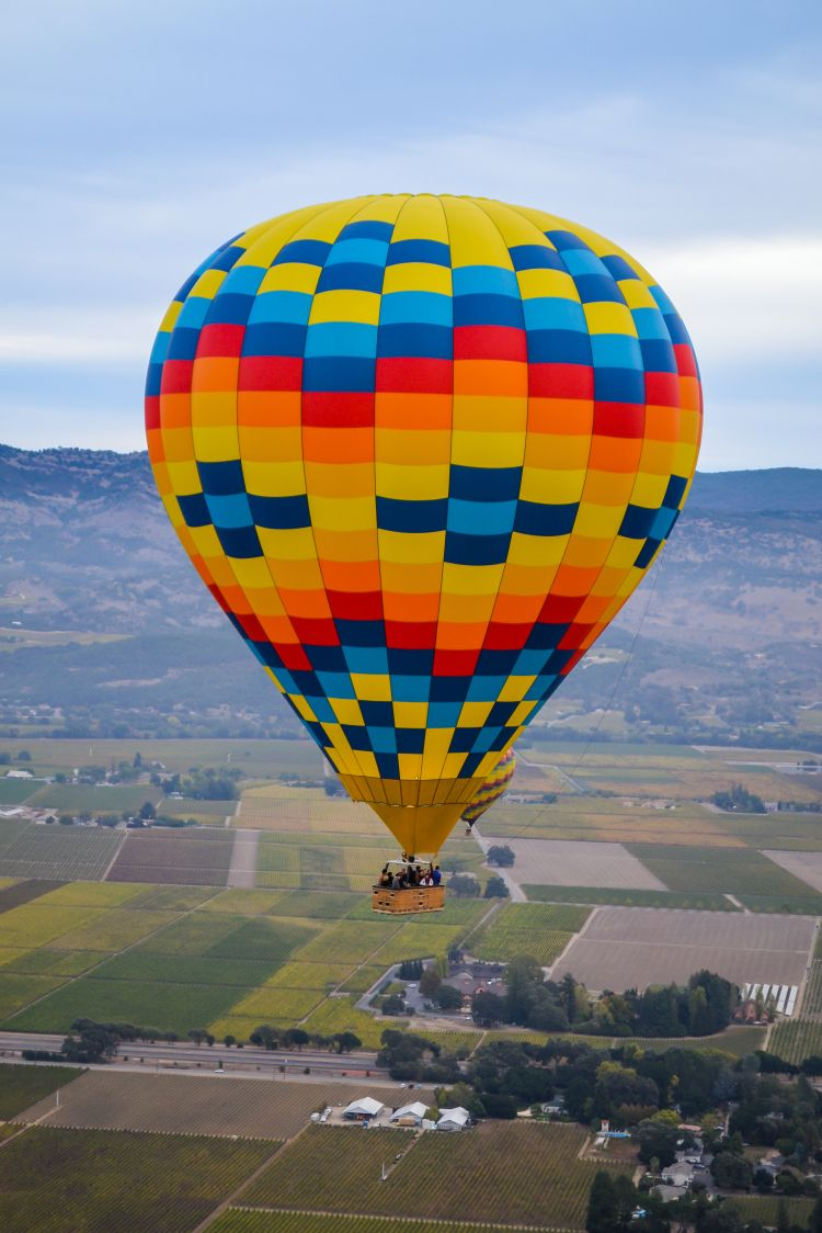 Hot Air Balloon in Napa Valley What to Expect Hot air