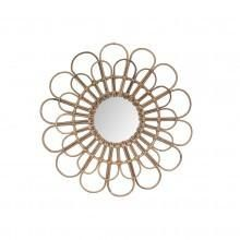 Mirror - Rattan Flower. For more information Please take a moment to visit our website : https://www.luxeelements.com.au/