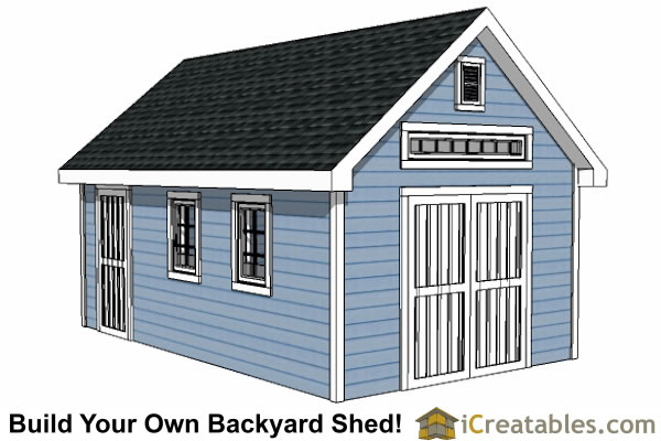 12x20 Shed Plans Easy To Build Storage Shed Plans Designs 12x20 Shed Plans Shed House Plans Shed Design