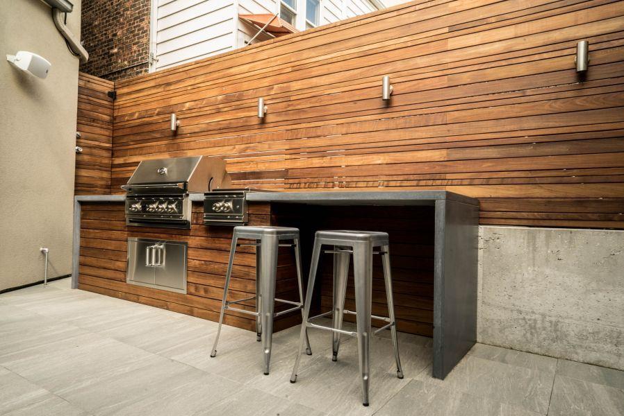Portfolio | Modern outdoor kitchen, Grill station, Outdoor ... on Patio Grill Station  id=47636