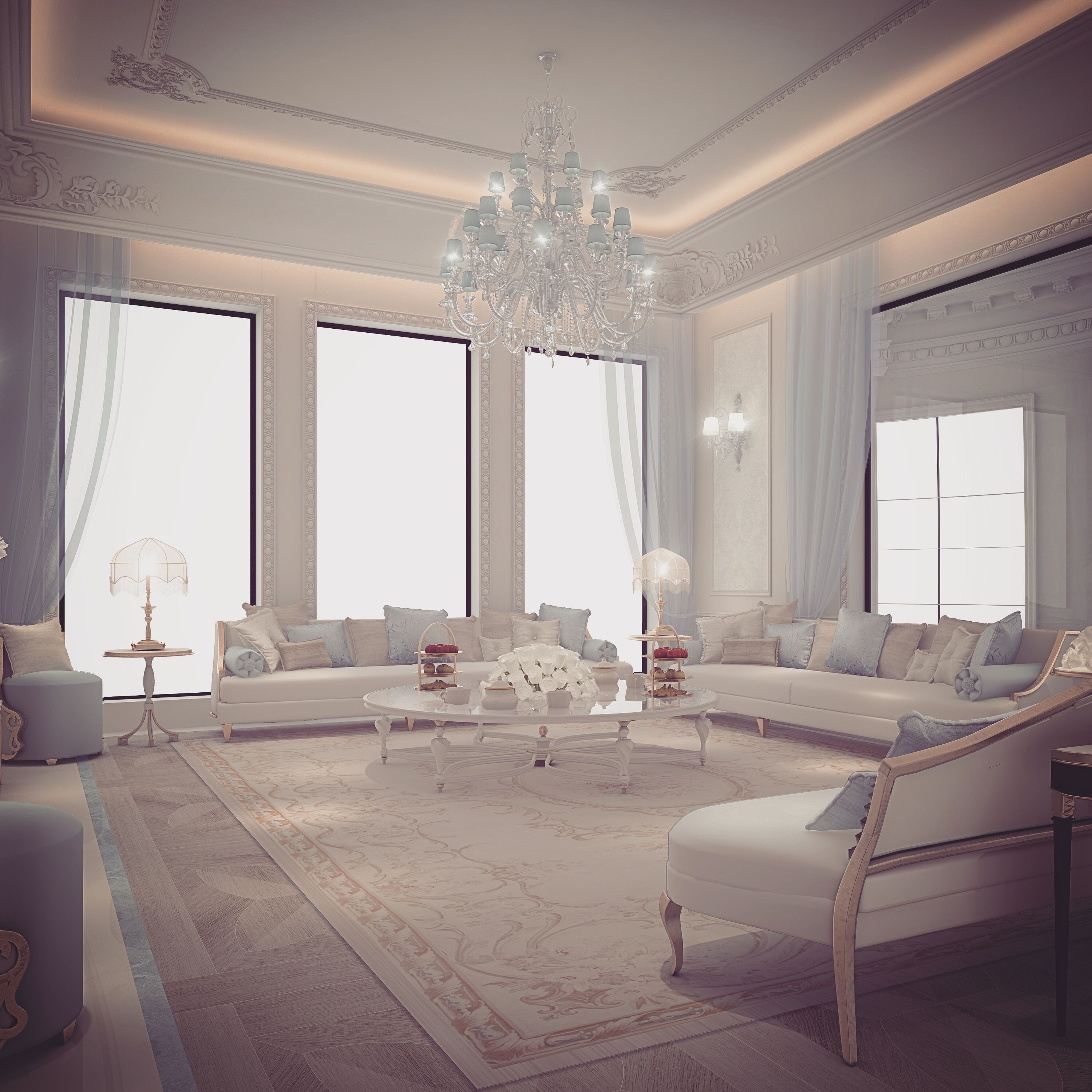 Ions Interior Design Dubai family living room design . by ions design (with images