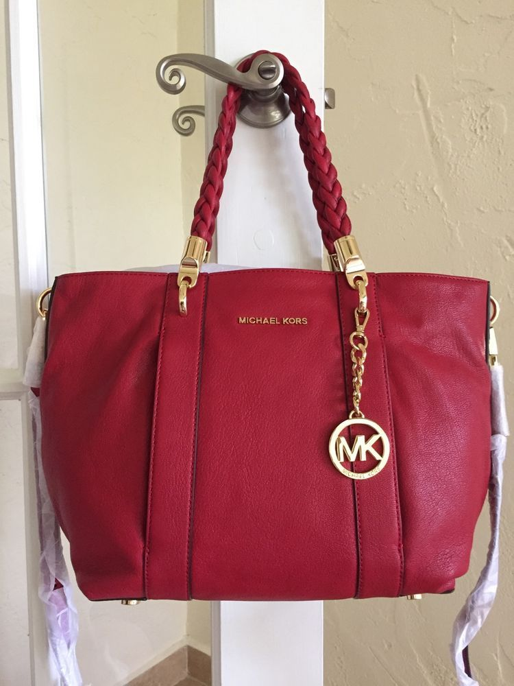 a39697d91681 ... coupon code for michael kors naomi large shoulder tote chili red  30t5gbye3l michaelkors totesshoppers 98a8b 0b9de
