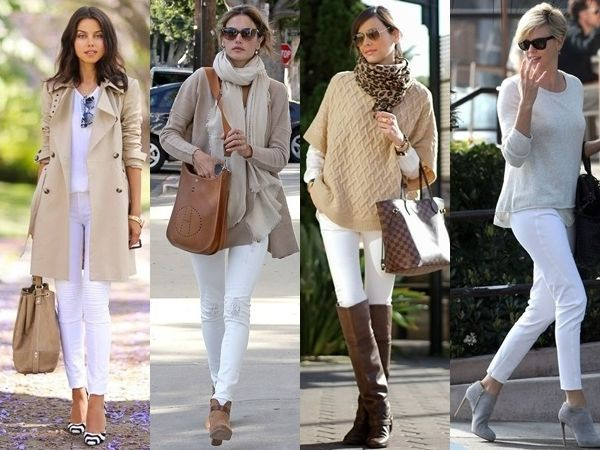What to wear whith white coats?