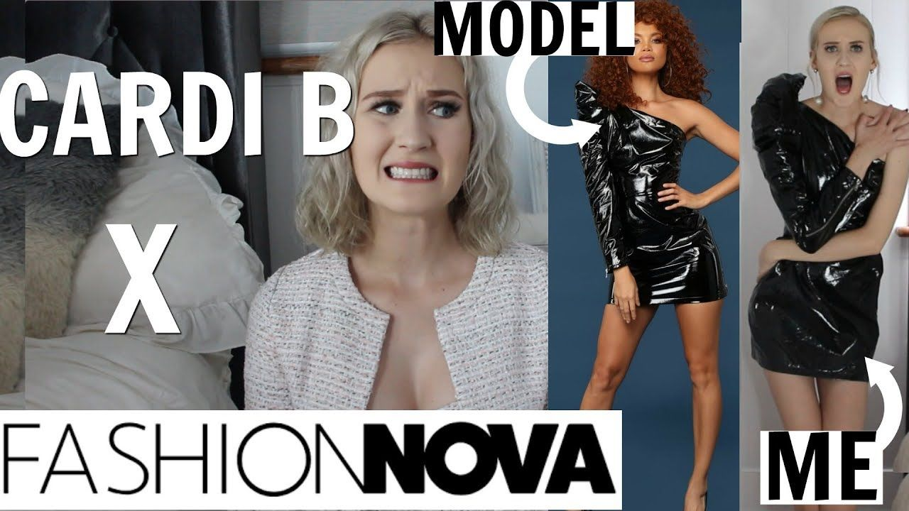 4abffc18950d FINALLY REVIEWING CARDI B X FASHION NOVA...I waited a month for THIS?! -  YouTube