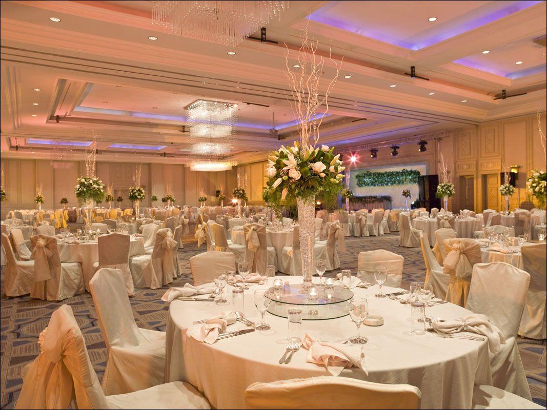 Grand Ballroom Hyatt Amman Jordan Scene Of The Wedding Reception