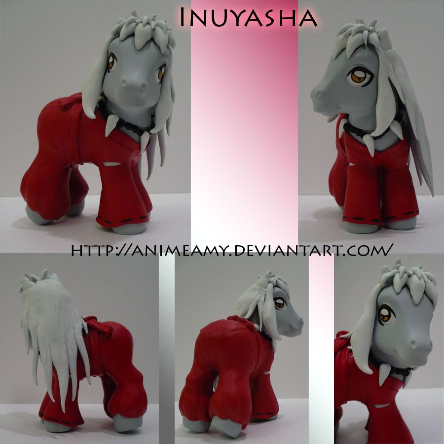 Inuyasha Pony by AnimeAmy.deviantart.com on @deviantART
