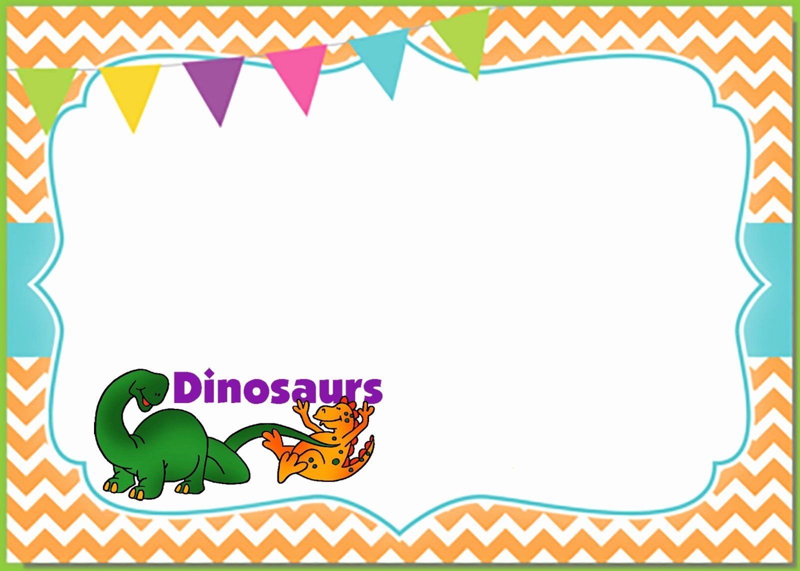 35 dinosaur birthday invitation template free with images