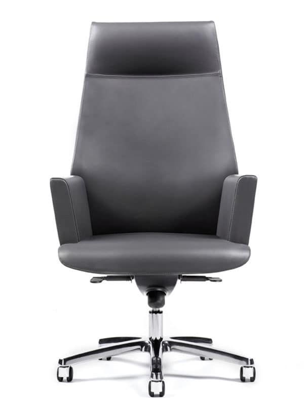 Comfortable Chairs For Presidential Office Leather Covering