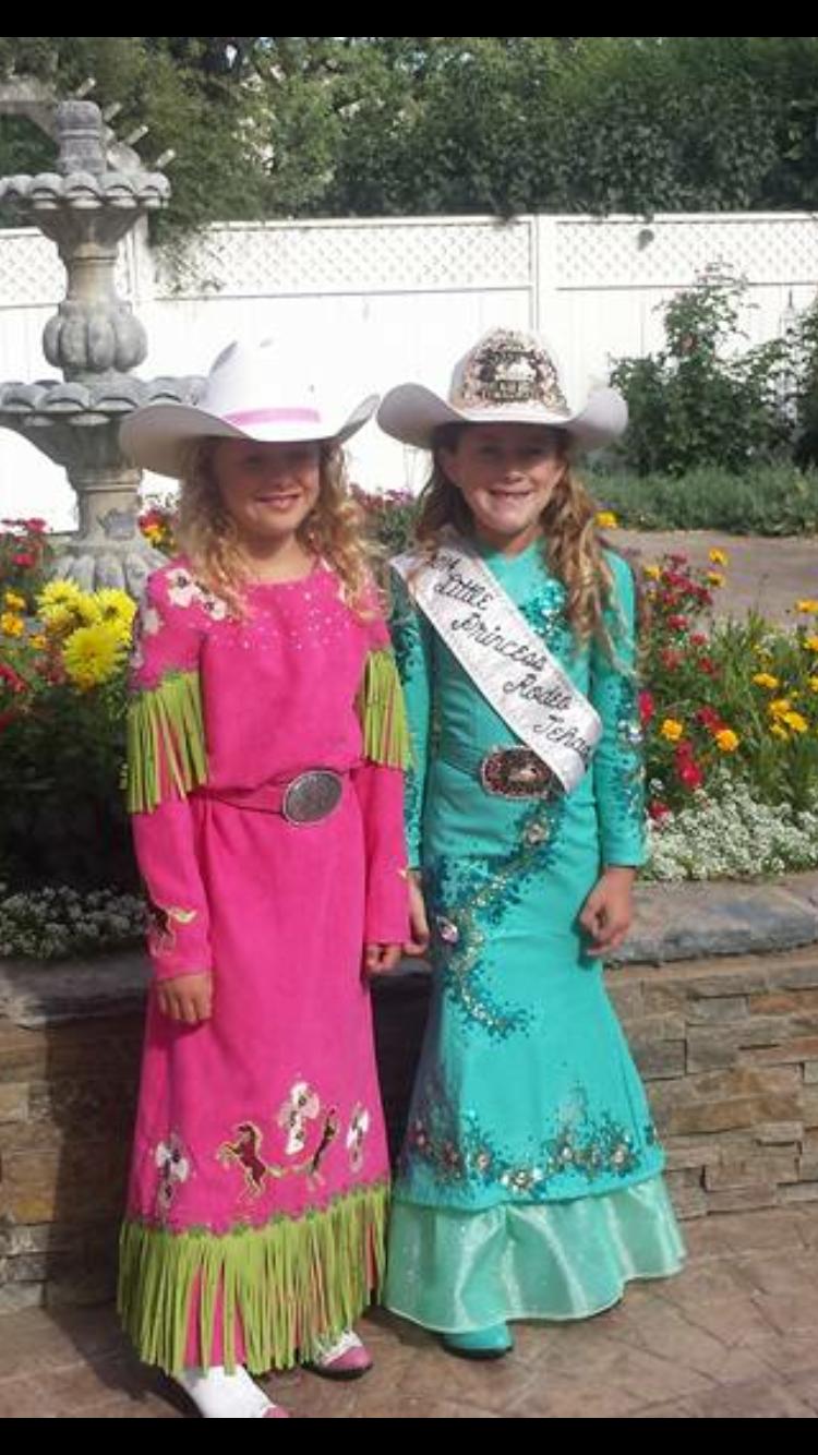 Rodeo Princess Toddler Girl Outfit