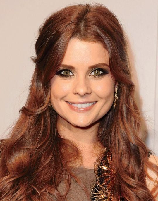 Joanna Garcia Natural Hair Color