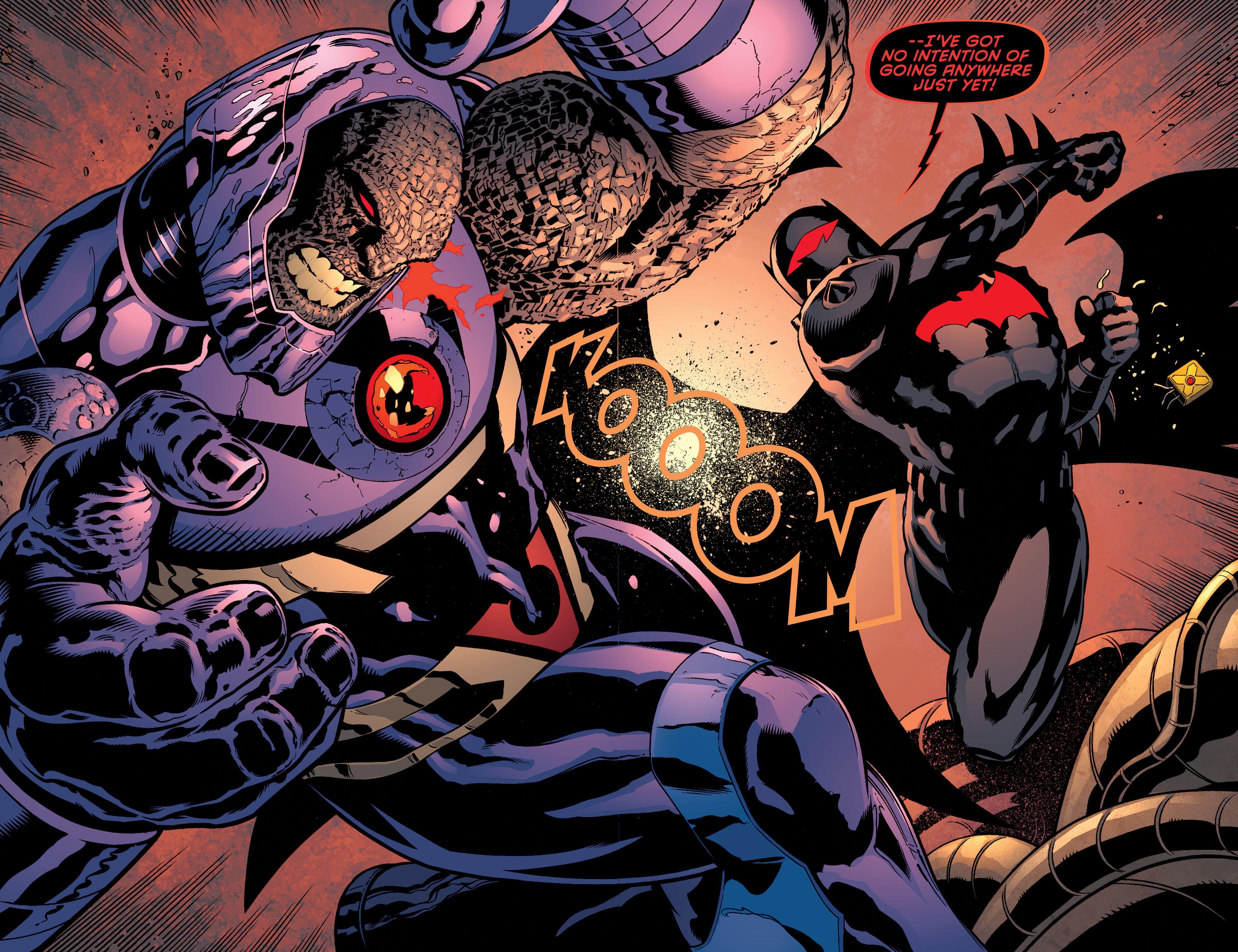 Hellbat vs. Darkseid
