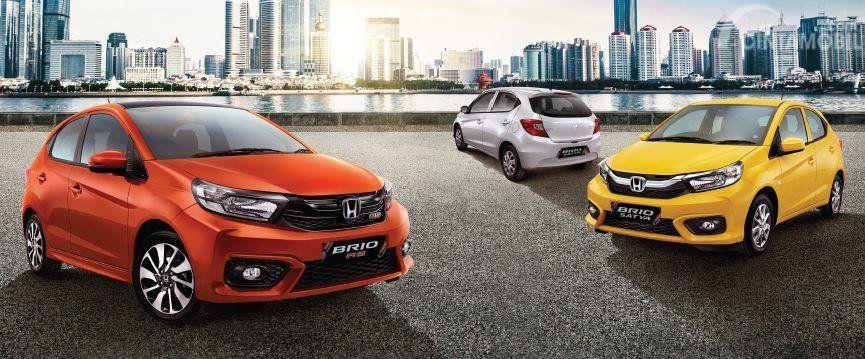 Harga Honda Brio Terbaru Juni 2020 Di Indonesia Di 2020 Honda Mobil Hatchback
